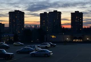 Lougheed Mall Sunset