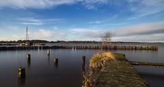 Vergankelijkheid... 2017 maakt plaats voor 2018 (Jan Wedema) Tags: groningen meer water lucht landschap fotografie nederland kleuren vergangkelijkheid oud panagor 24mm 28 transitoriness happy2018 exploringtheworld