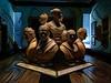 Standing Firm (Steve Taylor (Photography)) Tags: bust nationalportraitgallery art digital sculpture artgallery blue brown men man woman lady ladies women uk gb england greatbritain unitedkingdom london painting bohemianrhapsody