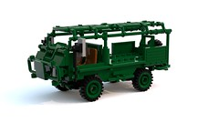 LSV - Light Support Vehicle (GrGLy) Tags: lego ldd military lsv vehicle