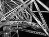 ponte d. luis by night, porto (dan.boss) Tags: iron x100f monochrome night bridge pontedluís porto portugal