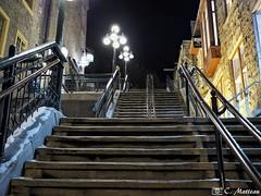 171211-37 Escaliers du Petit Champlain (clamato39) Tags: escaliers stairs petitchamplain villedequébec quebeccity ville city provincedequébec québec canada night nightshot lumières nuit urban urbain poselongue longexposure