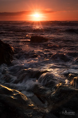 Swish (jpeder55) Tags: beach coast ocean oregon sunset waves xt2 yachats clouds fujix fujifilm jpedersenphotography pacificocean sand sky surf