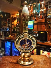 The Hermit Pub (tubblesnap) Tags: hermit pub timothy taylor boltmaker beer real ale pump handle rural bar
