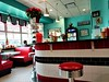 RETRO DINER INSIDE THE BUS TERMINAL (Visual Images1 (Thanks for over 4 million views)) Tags: diner elsiesdiner binghamtonnybus terminal retro