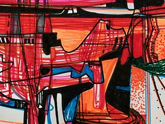 Jim Harris: Variationen und Fuge über ein Thema von W. A. Mozart. Detail (Jim Harris: Artist.) Tags: art arte dessin drawing abstract detail technology technik kunst konst lartabstrait contemporaryart contemporânea rysunek taide