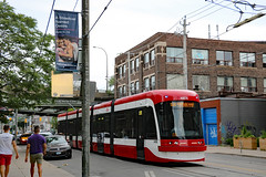 A Streetcar Named Desire new (see the hanging banner) (Canadian Pacific) Tags: toronto ontario canada canadian city urban ttc transit public commission streetcar tram king street east astreetcarnameddesire 2017aimg1223
