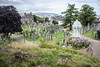 Old Town Cemetery (Shadowgate) Tags: old town cemetery stirling graveyard statue momento mori cross celtic holy rude abbey tomb grave bw