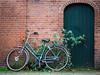 Green © Inge Hoogendoorn (ingehoogendoorn) Tags: bike bicycle bikes bikeparking overgrown overwoekerd groen green fiets fietsen dutchbikes dutchbike onkruid bicycles compositie composition