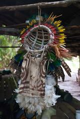 Ready to put on (Sven Rudolf Jan) Tags: tufi papuanewguinea traditional tapa singsing dancing