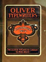 Typewriter catalogue from 1902 (Will S.) Tags: typewriter oliver catalogue 1902 ad mypics vintage canadascienceandtechnologymuseum ottawa ontario canada