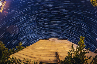Star Trails Over Sheridan