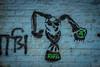 Graffiti, Calcutta, Bengale occidental, Inde (Pascale Jaquet & Olivier Noaillon) Tags: graffiti calcutta bengaleoccidental inde ind