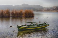 Βάρκα στη λίμνη (theo.mirk) Tags: abigfave καστοριά kastoria lake λίμνη outdoor βάρκα boat bird καστορια ελλαδα greece landscape mountainside sky mountain macedonia μακεδονια λιμνη ηλιοβασιλεμα sunset βαρκα macedonian makedonia timeless