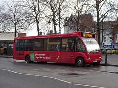 trent barton 472 Heanor (Guy Arab UF) Tags: trent barton 472 fj09mvw optare solo m920 bus heanor market place derbyshire wellglade buses wellgladegroup