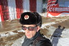 Cam com me (ZUHMHA) Tags: bulgarie bulgaria hiver winter portrait autoportrait people personnes gens human humain wall mur letter lettre mot word sign texte text écriture neige fence grille grillage barrière ombre lumière light shadow ombreetlumière buzludja