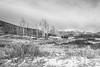 Kolob Terrace Road, Washington County, Utah (paccode) Tags: solemn utah landscape winter bushes brush serious hills abandoned tree mountain monochrome d850 quiet creepy farm blackwhite fence virgin unitedstates us forgotten