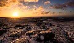 Frosty start (Phil-Gregory) Tags: naturalphotography naturephotography natural national nature naturalworld flickr nikon d7200 tokina higgertor colour snow peakdistrict 1116mm 1120mm 1116mmf8 1120mmf2811 1120mmproatx11 1120mmproatx rocks frozen winter sunrise countryside