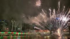 Brisbane 2018 (dorinser) Tags: happynewyear fireworks brisbane australia queensland southbank celebration 2018