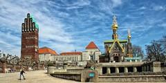 Darmstadt Mathildenhöhe (wernerfunk) Tags: hessen architektur jugendstil kirche