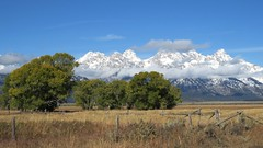 The Tetons from Antelope Flats (Larry Myhre) Tags: grandtetonnationalpark tetons scenic mountain wyoming