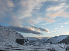 001-2018-365 Sun setting at Findhorn Valley (Strathdearn) (graber.shirley) Tags: scotland