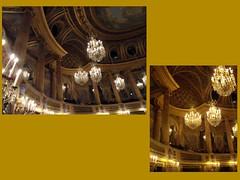 Château de Versailles. Opéra Royal. Loges et lustres (fvib'r) Tags: versailles châteaudeversailles loges lustres