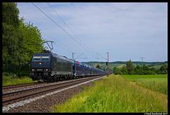 RTB Cargo 185 574, Himmelstadt  02-06-2017 (Henk Zwoferink) Tags: himmelstadt bayern duitsland de rtb cargo 185 574 mrce henk zwoferink traxx bombardier