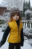 Snowy morning (Little little mouse) Tags: dollstown deogi penelope dt7 bjd dollfie katzentabs lynnknit snowyday