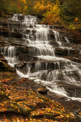Minnehaha Falls (kipstahl) Tags: 2017 waterfall georgia minnihaha lakemont unitedstates us fall color autumn canonef24105mmf4lisusm