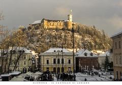 SLOVEVIA - IL CASTELLO DI LUBIANA (Andrea di Florio (9.000.000 views!!!)) Tags: slovenia lubiana castello medioevo tramonto paesaggio panorama nikon d600