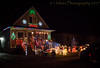 Decore (13skies) Tags: flickeroos lights nighttime decoration christmas display fun oohs aahs power electric santaclaus xmas see colder winter festive love sonya99 house porch season holiday