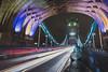 Rush Hour (shammondphoto) Tags: rushhour xmas london towerbridge traffic light trails longexposure city arch wideangle 1635 monument landmark road outdoor