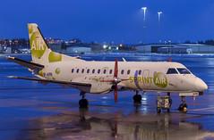 SP-KPR SprintAir SAAB 340A (Stefan Sjogren) Tags: saab 340 jet turboprop airliner airplane plane passenger regional cargo freighter stockholm arlanda widebody poland scandinavia aviation night ramp airport sweden