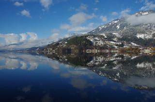 16. Dezember : Wolken + Schnee auf Land und See