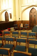 Teddy (My photos live here) Tags: tetbury seats teddy bear gloucestershire england canon eos 1000d town cotswolds church st mary the virgin magdalene