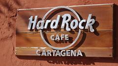 Hard Rock Cafe Cartagena (David P James) Tags: sign hardrock cartagena
