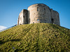 Clifford's Tower, York (Hector Patrick) Tags: flickrelite leicadgsummilux15mmf17 unitedkingdom york yorkshire cliffordstower castles ancient panasonicdmcgx80 camera