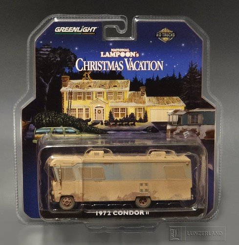 national lampoons christmas vacation cousin eddies 1972 condor ii rv 164 scale