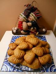 Ευχές για μια καλή, υγιή, τυχερή και γλυκιά χρονιά / Best wishes for a happy, prosperous, sweet New Year! (Ath76) Tags: christmas new year sweets bakery athens greece hellas home made χριστούγεννα ευχέσ γλυκά ισλί αθήνα wishes natale dolci gateaux noel jul navidad