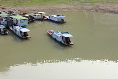 Docked Boats (oxfordblues84) Tags: peoplesrepublicofchina china oat overseasadventuretravel victoriacruises victoriajenna victoriajennacruise riverboatcruise rivercruise yangtzerivercruise yangtzeriver river water dock boats chineseboats
