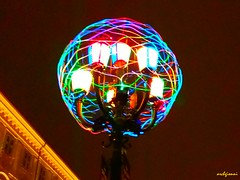 lamp (archgionni) Tags: notte night luci lights colori colors lampione lamp torino italy vividstriking
