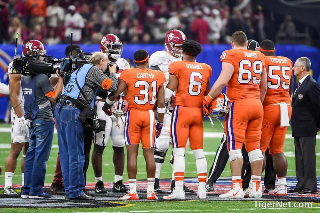 Clemson Photos: dorianodaniel, Maverick  Morris, Ryan  Carter, Tyrone  Crowder, 2017, Football, alabama