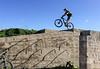 Doing a Danny (Gee & Kay Webb) Tags: mtb mountainbike bike bicycle cycling riding outdoors fortcampbell malta sky buildings