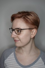 Rose gold and cut by Corinne