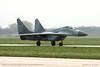 MiG-29 B (9.12) (srkirad) Tags: military mikoyan mig29 fulcrum serbianairforce singleseater airshow aeromiting airbase batajnica belgrade beograd serbia srbija travel spotting openday airport aerodrom