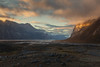 The Golden Hour (Andrew G Robertson) Tags: baffin island pangnirtung iceberg nunavut canada arctic auyuittuq national park sunset fjord valley cliff sunrise