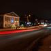 Ночные улицы города   Night streets of the city
