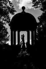 Apollontemple - Schwetzinger Park (Picturepest) Tags: schwarzweis schwarzweiss sw blackwhite bw blackandwhite schwarzweisfotografie schwarzweissfotografie monochrome noir twit twart einfarbig park temple tempel greekgodness griechisch barock sundown sonnenuntergang schlosspark schwetzingen germany europe europa allemagne