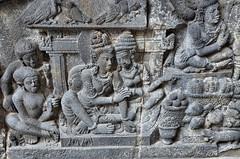 Prambanan, Ramajana story - DSC_3617p (Milan Tvrdý) Tags: prambanan yogyakarta jogjakarta indonesia rarajonggrang hinduisttemple candi hindu ramajana